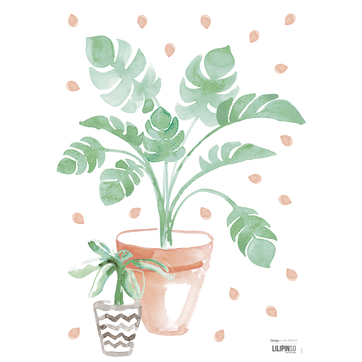 Stickers plante exotique - Stickers de Lilipinso