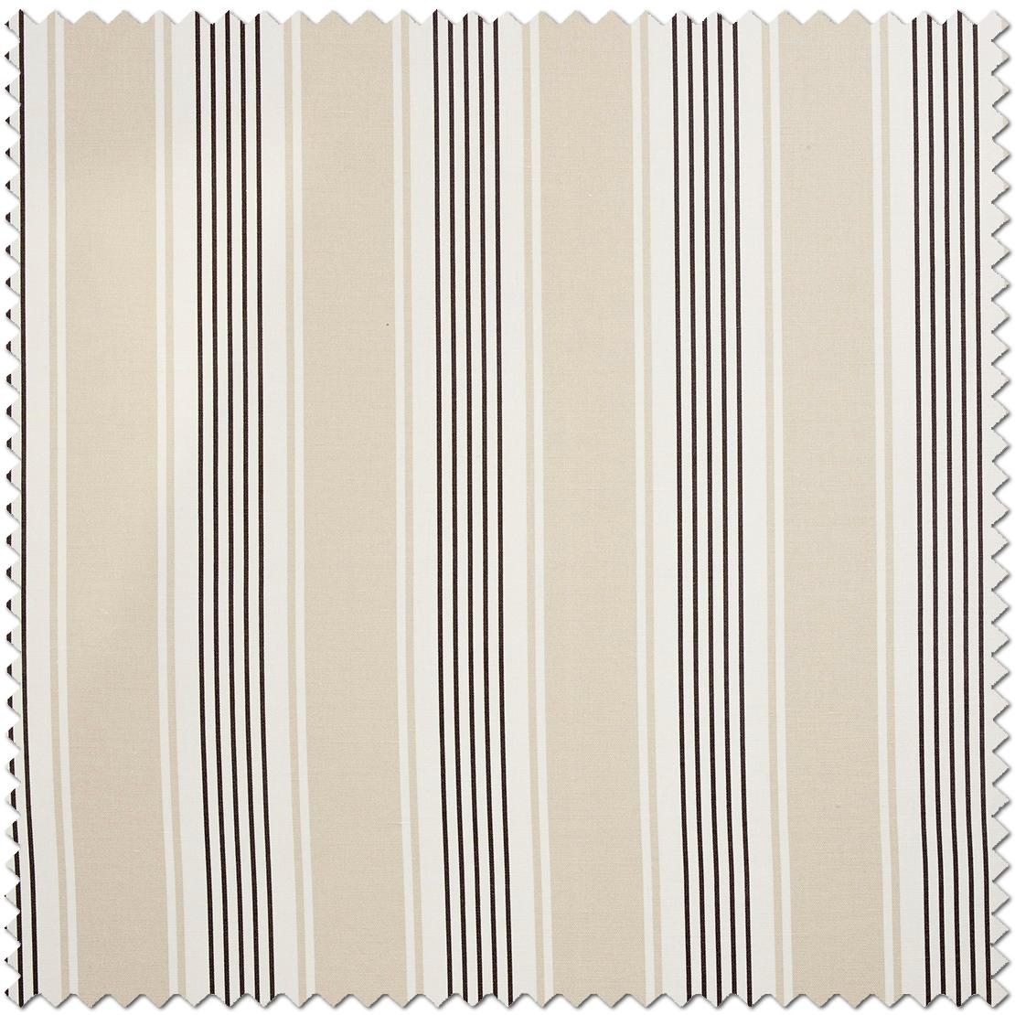 Tissu Rayures noire  - Collection Chantilly de Casadéco