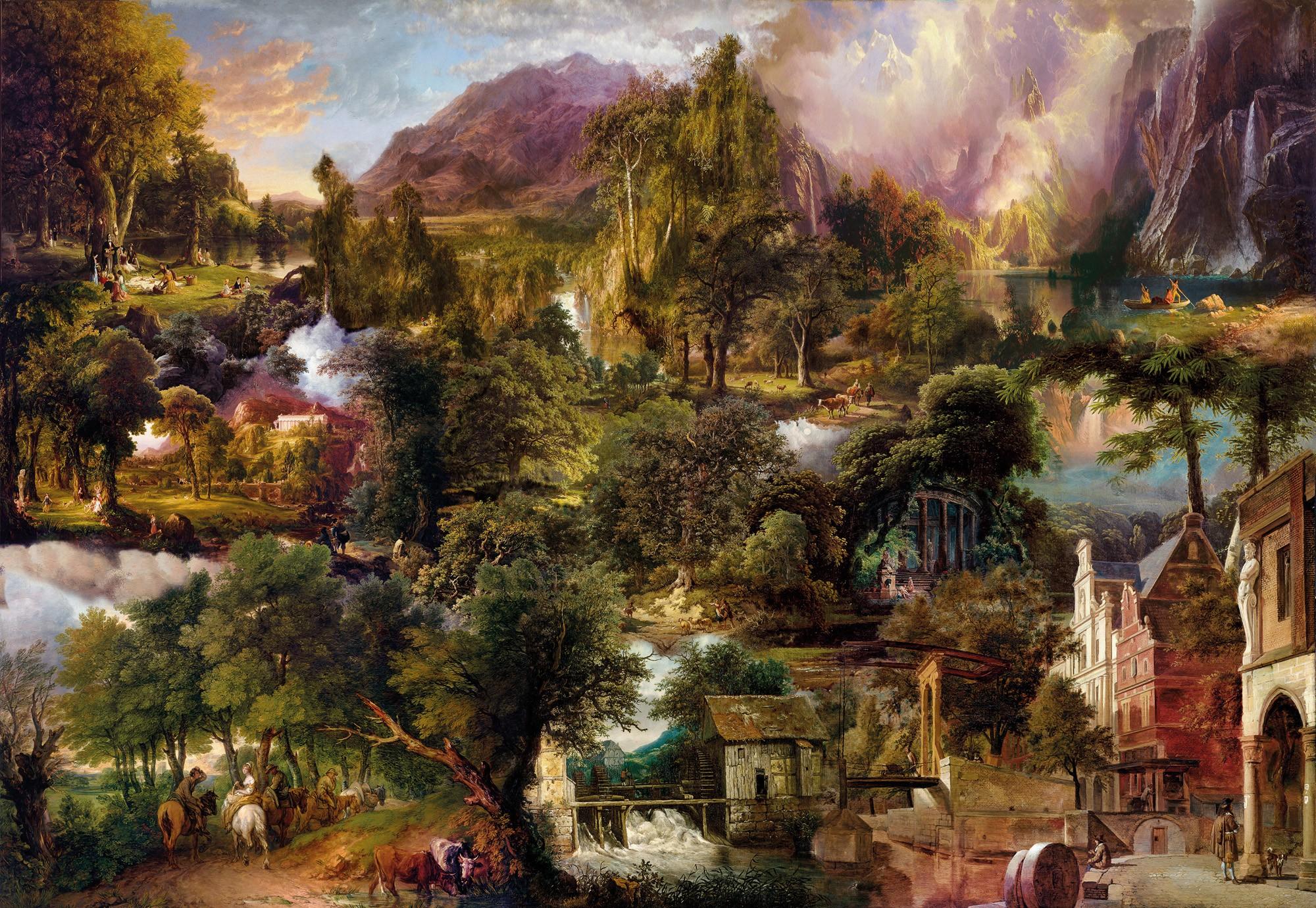 Heritage - Papier peint XXL Komar